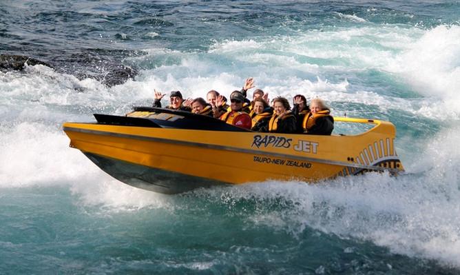 Taupo Jet boat voucher