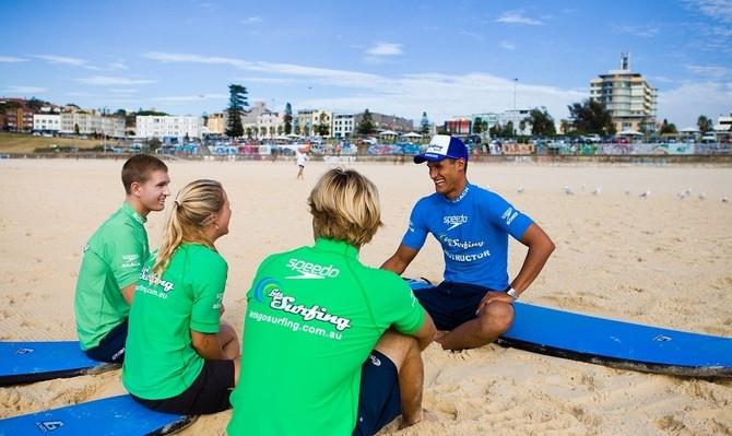 Sydney surfing tour voucher