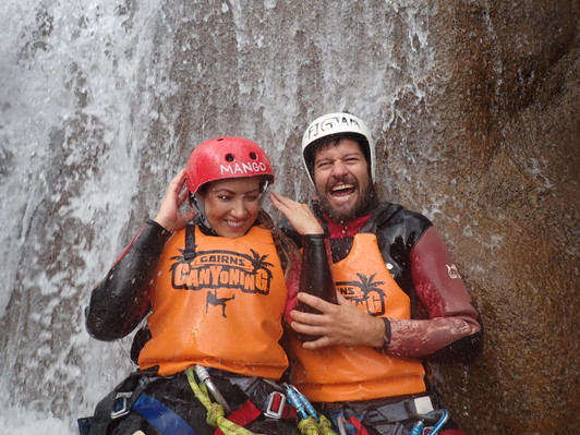 cairns canyoning experince