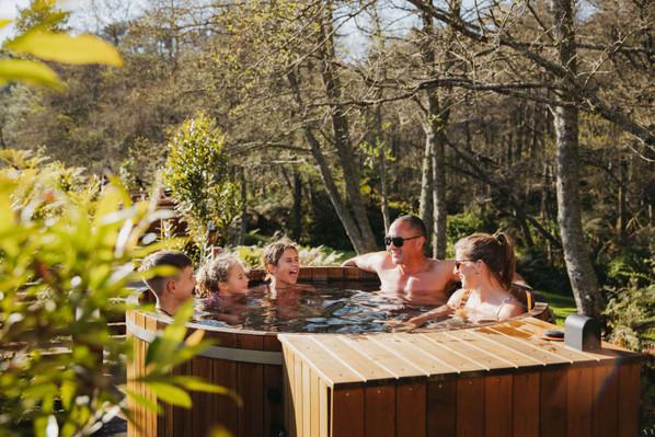 Hot tub family Secret Spot Rotorua