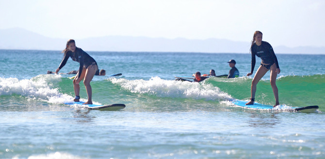 surf day lesson