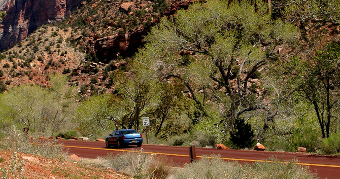 Las Vegas to Zion National Park