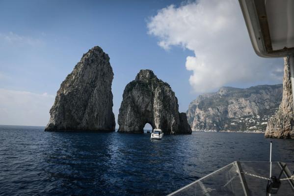 Tour to Capri Island