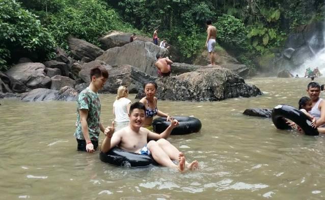 cambodia waterfall activity
