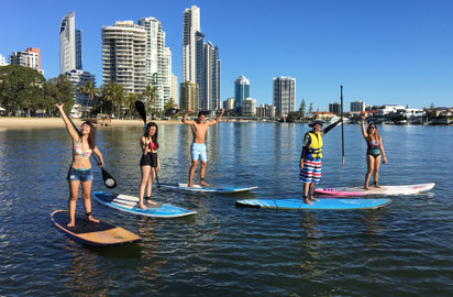 Stand Up Paddle (SUP) Beginner Lesson – Surfers Paradise