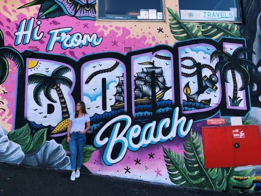 Bondi Beach street art tour
