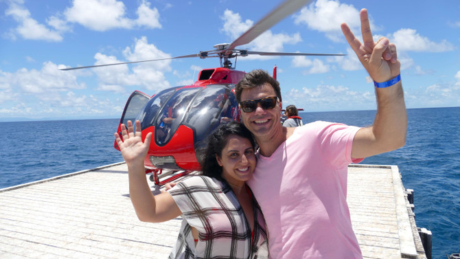 Great Barrier Helicopter & Snorkelling Deal