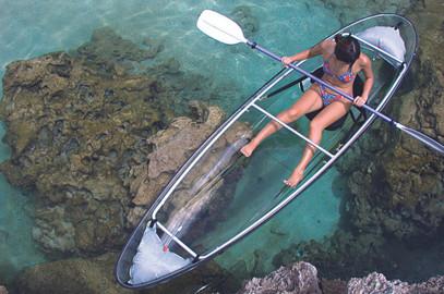 Oahu Clear Kayak Tour Of Hidden Beaches, Cliffs, and Sandbars