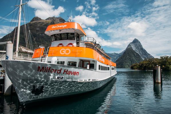 Go Orange Cruise new zealand