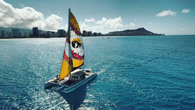 Waikiki Snorkel And Sail Tour