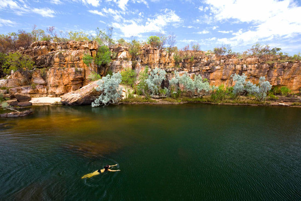 Australian outback camping deal
