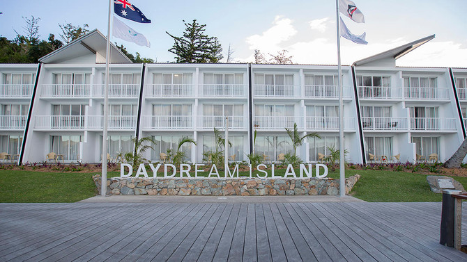 Daydream Island Entrance