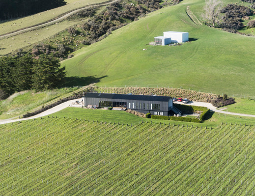 Canterbury helicopter wine tour