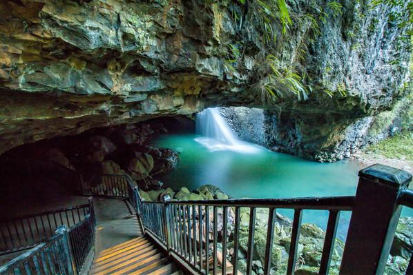 Springbrook National Park Waterfall