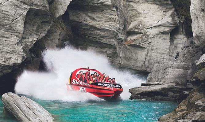 Shotover River Extreme Jet Boat Ride - Sunriser
