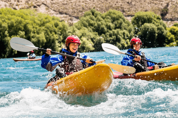 deal lake wanaka kayak