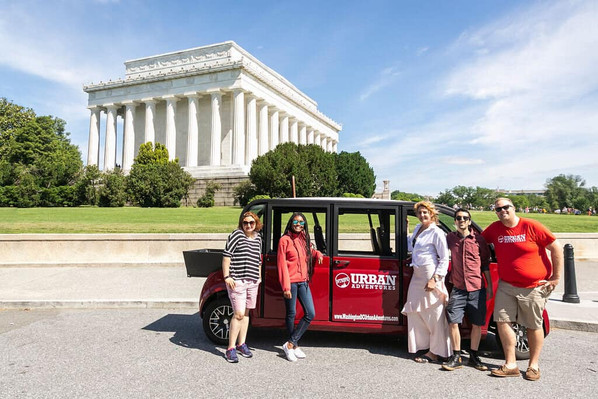 Washington DC national mall tour