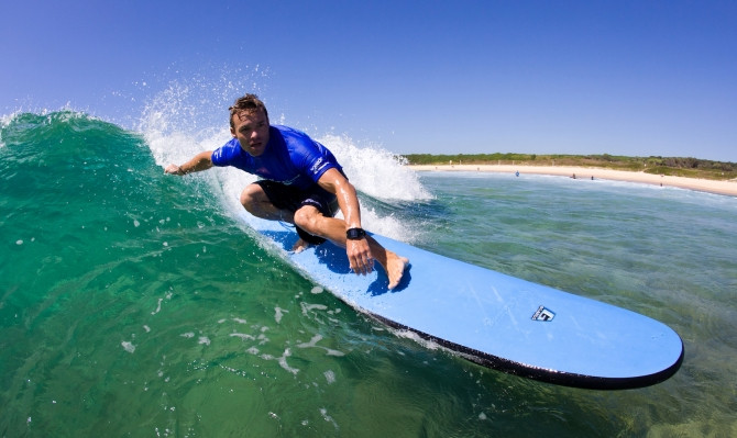 surf lesson byron bay