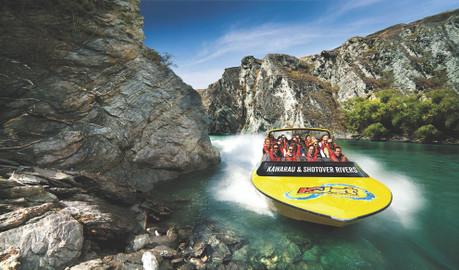 KJet Queenstown - Shotover & Kawarau Rivers Thrilling 1 hour Jet Boat Ride