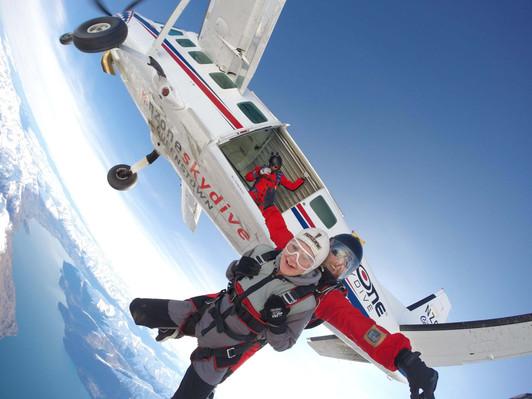 NZONE Skydive Queenstown - Exit.JPG