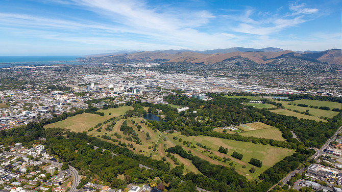 Christchurch Helicopter Scenic Flight