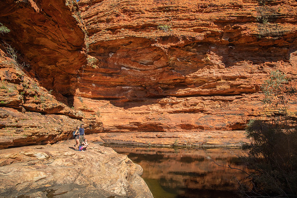 kings canyon hiking tour