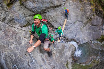 Go Wild Waterfall Climb - Canyoning Wanaka