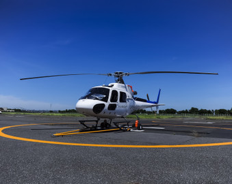 Private Helicopter Flight Over Tokyo