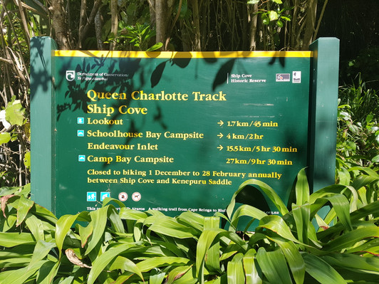 Queen Charlotte Track Walk One Day