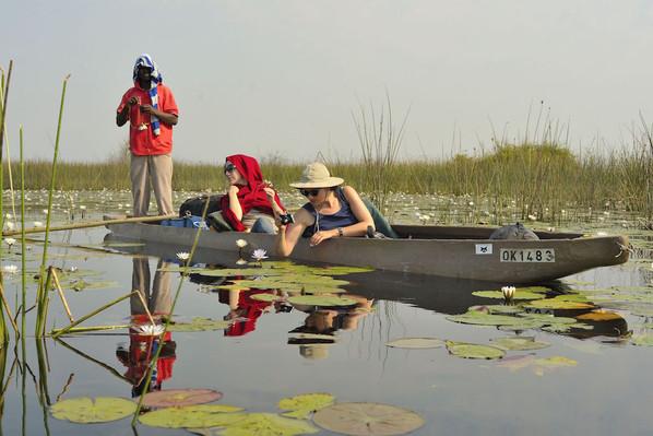 guided African river safari