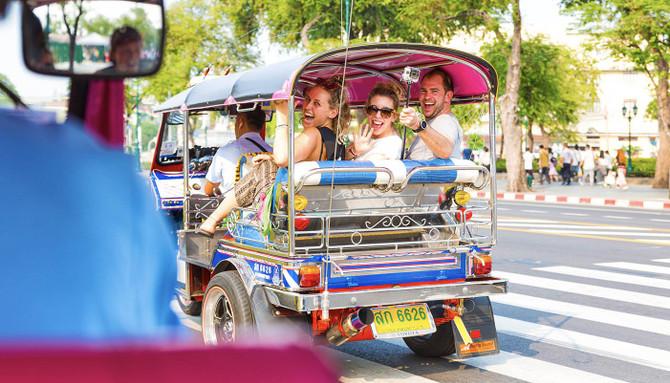 tuk tuk cambodia ride
