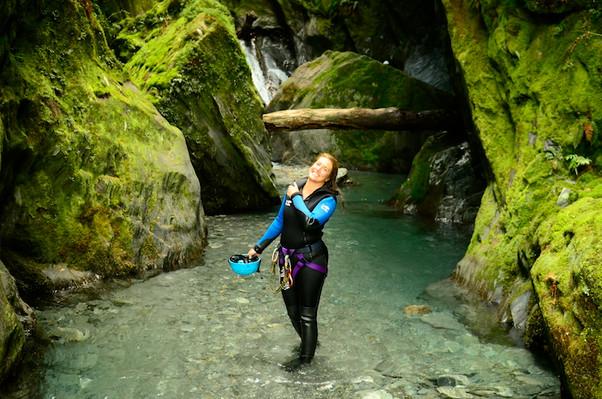 mount aspiring canyoning