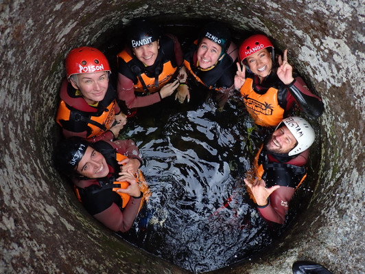 canyoning queensland