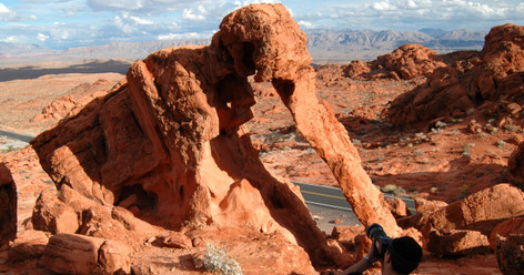 Valley of Fire plus the Lost City Museum Tour from Las Vegas