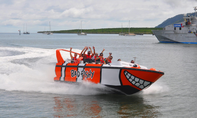 jet boat ride cairns