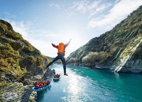 Go Orange Queenstown Rafting - Kawarau River Deals