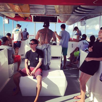 Hawaii glass bottom boat