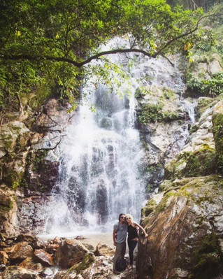 Minca Colombia waterfall tour