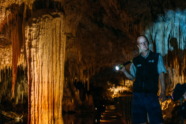 Lake Cave Fully Guided Tour