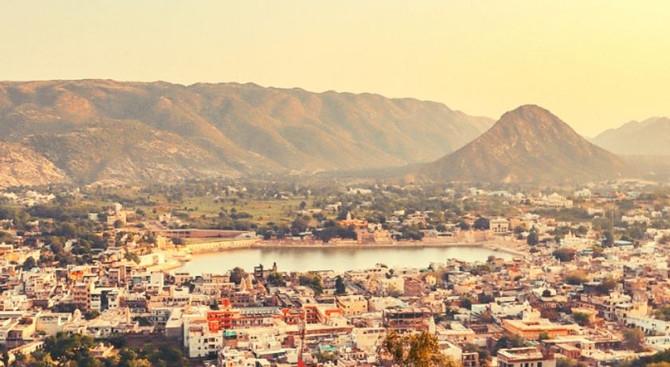 Pushkar - Rajasthan with Taj Mahal Tour