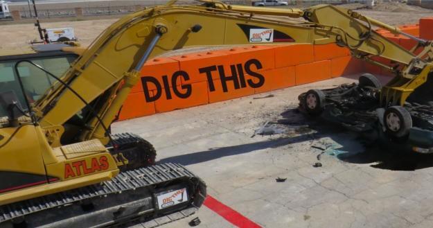 Excavator Smash Session