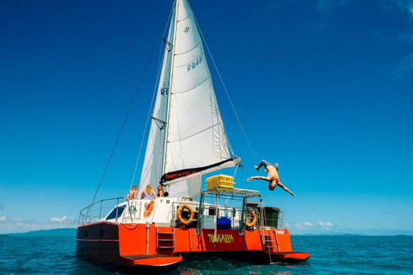 whitsundays cruise tongarra