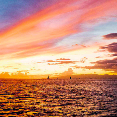 Waikiki glass bottom boat rou