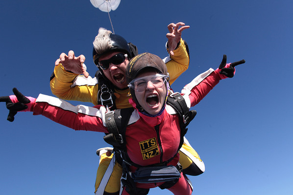 Skydive New Zealand discount