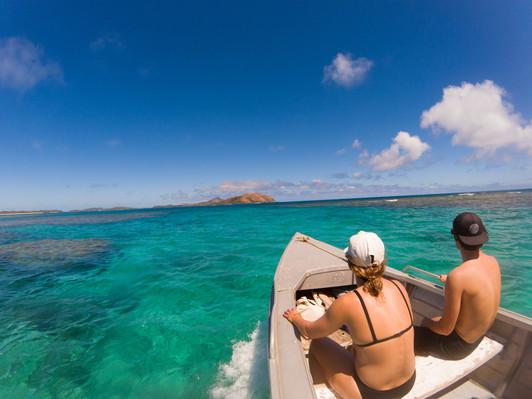 Tropical island tour fiji