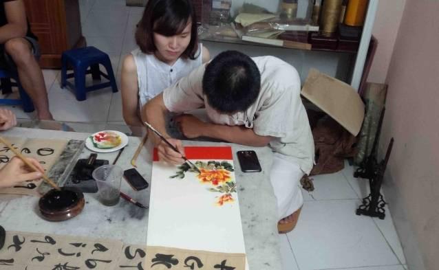 watercolor drawing class