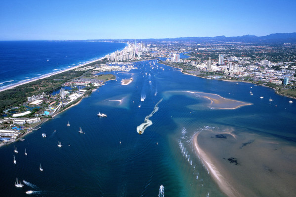 Broadwater Adventure Jet Boat Ride + 5min Helicopter Flight