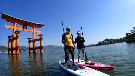 SUP Tour of the Itsukushima Shrine