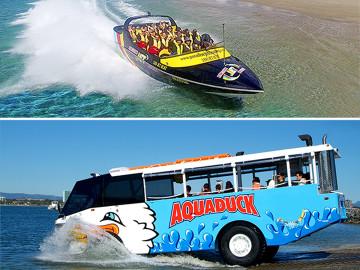 Jet Boat Express & Aquaduck Safari