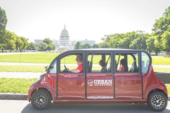 Electric Car Tour Washington DC
